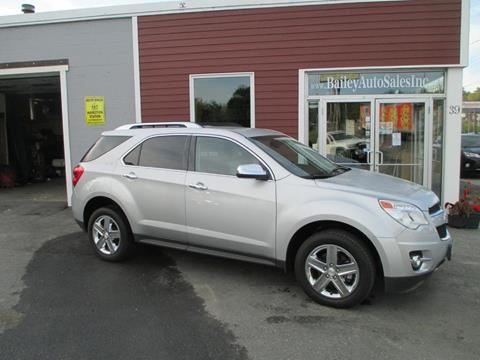 2015 Chevrolet Equinox for sale at Percy Bailey Auto Sales Inc in Gardiner ME