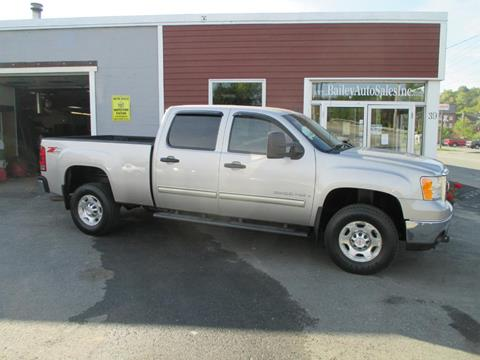2008 GMC Sierra 2500HD for sale at Percy Bailey Auto Sales Inc in Gardiner ME