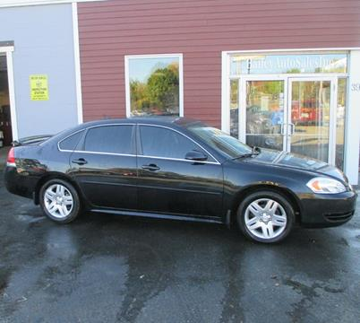 2012 Chevrolet Impala for sale at Percy Bailey Auto Sales Inc in Gardiner ME