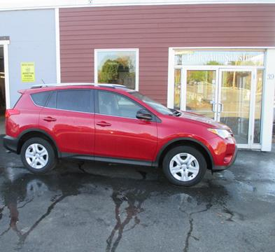2015 Toyota RAV4 for sale at Percy Bailey Auto Sales Inc in Gardiner ME