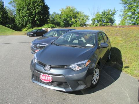 2016 Toyota Corolla for sale in Gardiner, ME