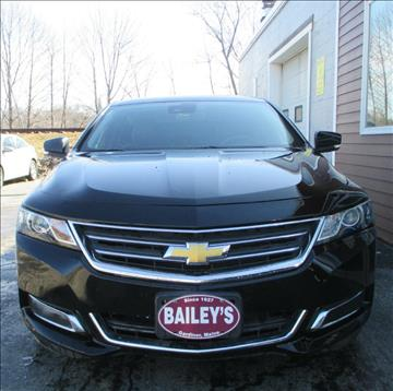 2014 Chevrolet Impala for sale at Percy Bailey Auto Sales Inc in Gardiner ME