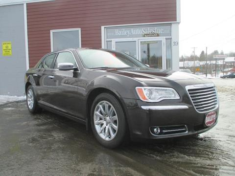 2012 Chrysler 300 for sale at Percy Bailey Auto Sales Inc in Gardiner ME