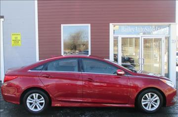 2014 Hyundai Sonata for sale at Percy Bailey Auto Sales Inc in Gardiner ME