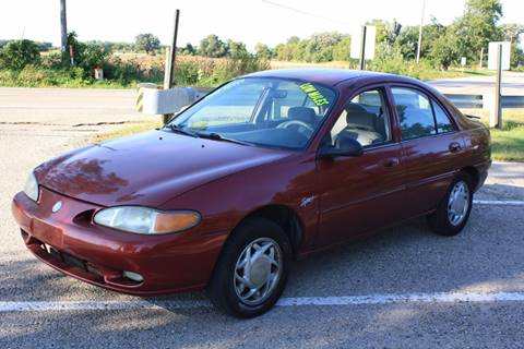 1998 Mercury Tracer for sale at K&F Auto Sales & Service LLC in Fort Atkinson WI