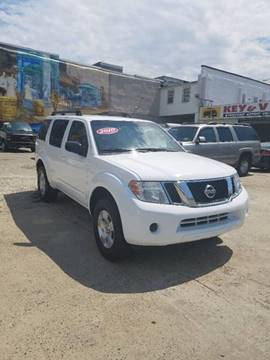 2010 Nissan Pathfinder for sale at Key & V Auto Sales in Philadelphia PA