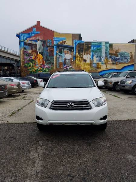2008 Toyota Highlander for sale at Key & V Auto Sales in Philadelphia PA
