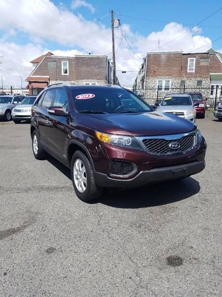 2012 Kia Sorento for sale at Key & V Auto Sales in Philadelphia PA