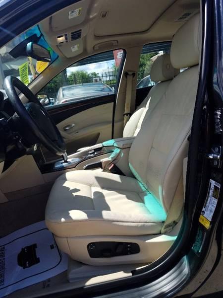 2009 BMW 5 Series for sale at Key & V Auto Sales in Philadelphia PA