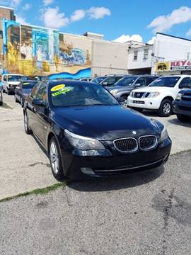 2009 BMW 5 Series for sale at Key & V Auto Sales in Philadelphia PA