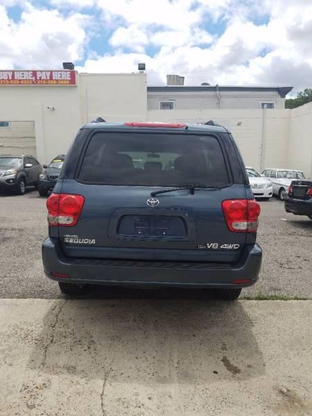 2006 Toyota Sequoia for sale at Key & V Auto Sales in Philadelphia PA