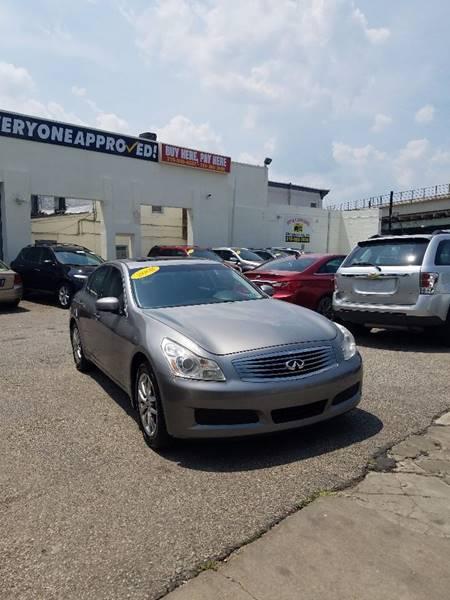 2008 Infiniti G35 for sale at Key & V Auto Sales in Philadelphia PA