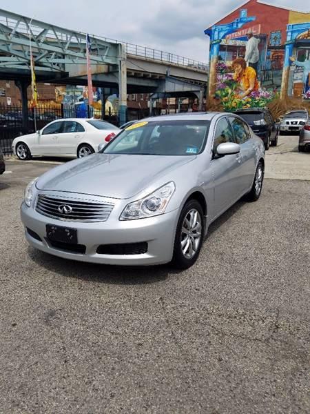 2007 Infiniti G35 for sale at Key & V Auto Sales in Philadelphia PA