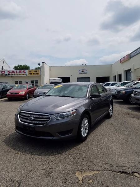 2013 Ford Taurus for sale at Key & V Auto Sales in Philadelphia PA