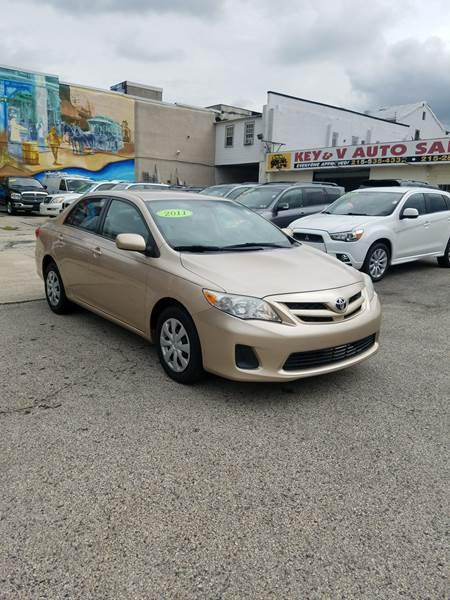 2011 Toyota Corolla For Sale At Key U0026 V Auto Sales In Philadelphia PA
