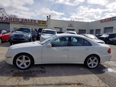 2008 Mercedes-Benz E-Class for sale at Key & V Auto Sales in Philadelphia PA