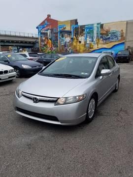 2006 Honda Civic for sale at Key & V Auto Sales in Philadelphia PA