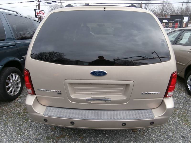 2007 Ford Freestar For Sale At Slates Auto Sales In Greensboro NC