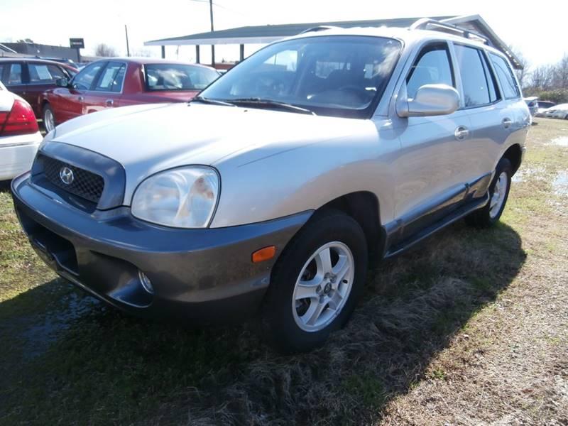 2004 Hyundai Santa Fe For Sale At Slates Auto Sales In Greensboro NC