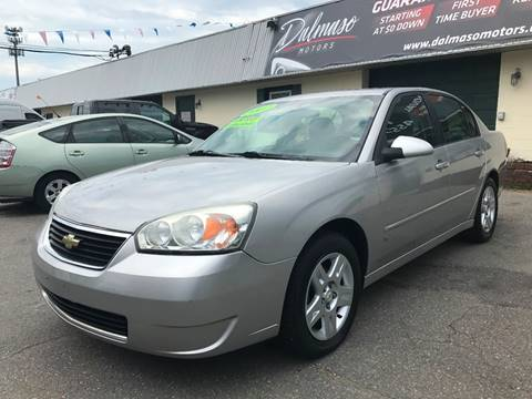 2007 Chevrolet Malibu for sale in Lowell, MA