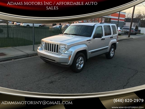 2012 Jeep Liberty for sale at Adams Motors INC. in Inwood NY