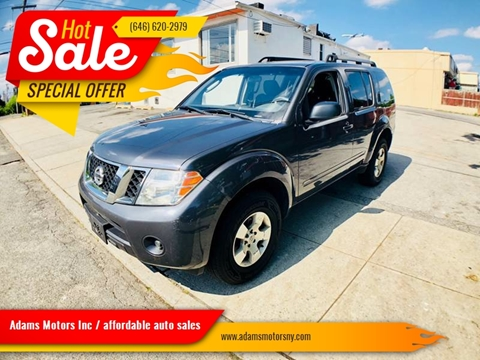 2011 Nissan Pathfinder for sale at Adams Motors INC. in Inwood NY