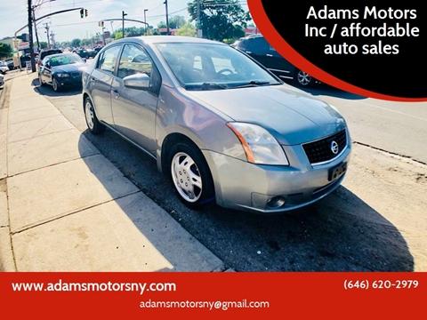 2008 Nissan Sentra for sale at Adams Motors INC. in Inwood NY