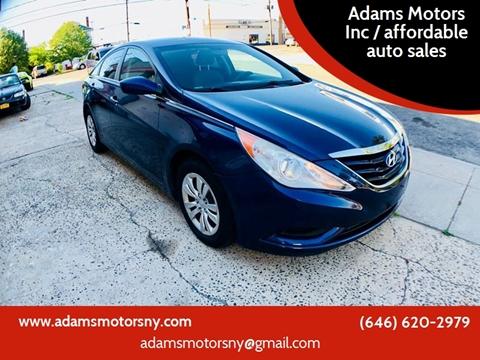 2011 Hyundai Sonata for sale at Adams Motors INC. in Inwood NY