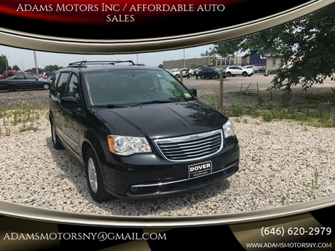 2012 Chrysler Town and Country for sale at Adams Motors INC. in Inwood NY