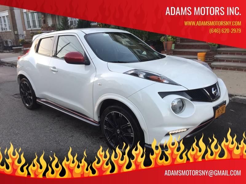 2014 Nissan JUKE for sale at Adams Motors INC. in Inwood NY