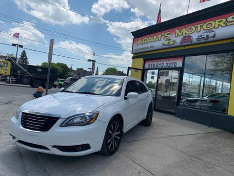 2013 Chrysler 200 for sale at Adams Motors INC. in Inwood NY