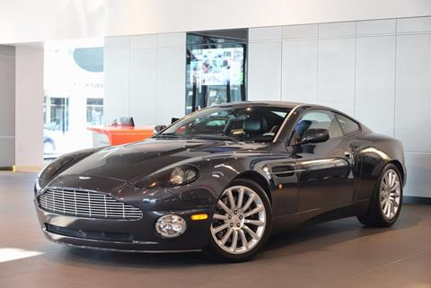 2003 Aston Martin V12 Vanquish for sale in Beverly Hills, CA