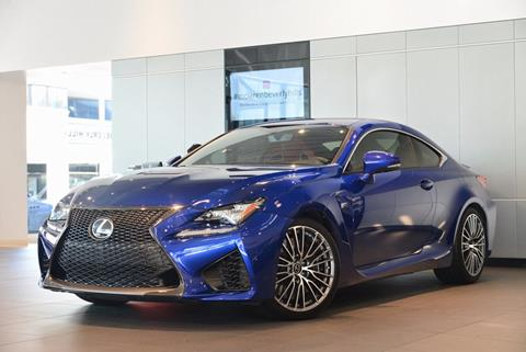 2015 Lexus RC F for sale in Beverly Hills, CA