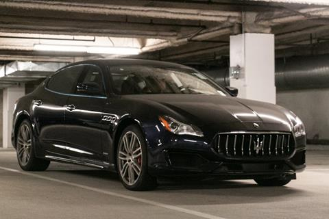 2017 Maserati Quattroporte for sale in Beverly Hills, CA