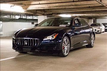 2017 Maserati Quattroporte for sale in Beverly Hills, CA