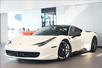2011 Ferrari 458 Italia for sale in Beverly Hills, CA