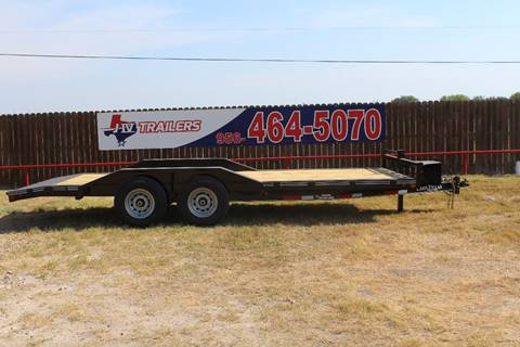 """2018 East Texas Trailer Car Hauler 102""""x20' for sale at J IV Trailers in Donna TX"""