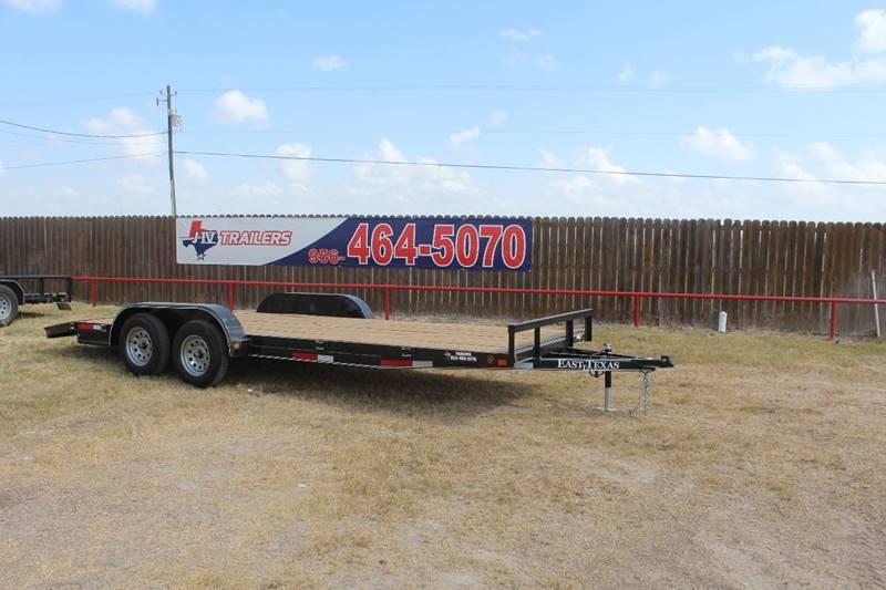 2018 East Texas Trailer Car Hauler 83