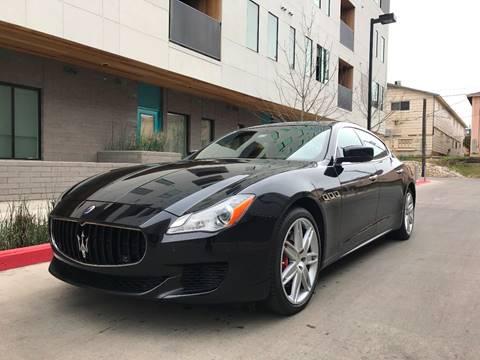 2014 Maserati Quattroporte for sale in Austin, TX