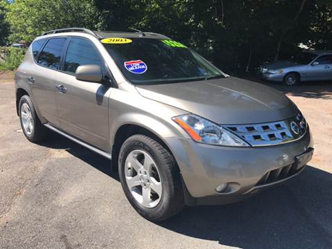 2003 Nissan Murano for sale in West Bridgewater, MA