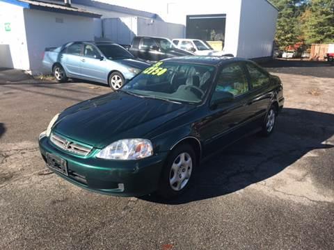 1999 Honda Civic for sale in West Bridgewater, MA