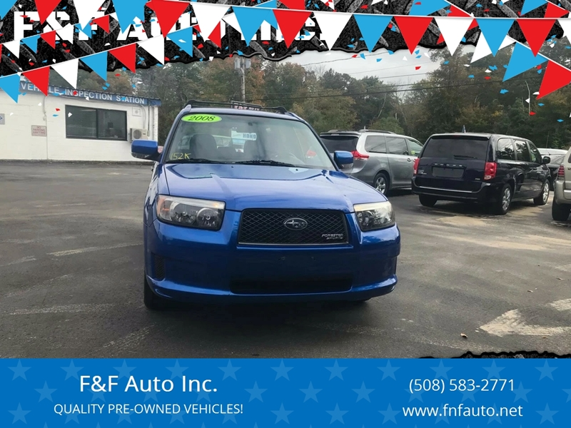 2008 Subaru Forester Sports 2 5 X In West Bridgewater Ma F F Auto