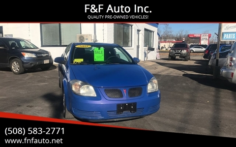 2008 Pontiac G5 for sale in West Bridgewater, MA