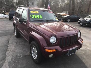 2002 Jeep Liberty for sale in West Bridgewater, MA