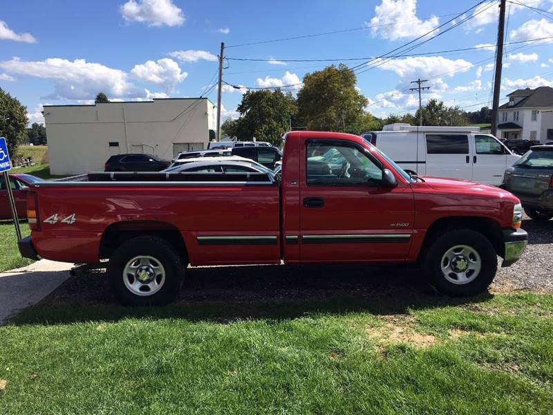 2002 Chevrolet Silverado 1500 for sale at SOUTHERN YORK MOTORS in New Freedom PA