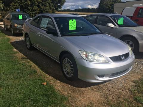 2005 Honda Civic for sale at SOUTHERN YORK MOTORS in New Freedom PA