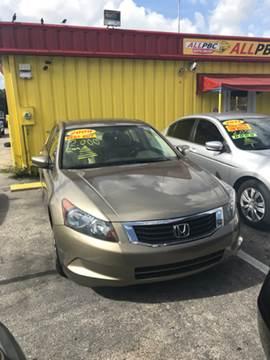 2009 Honda Accord for sale in Lake Worth, FL
