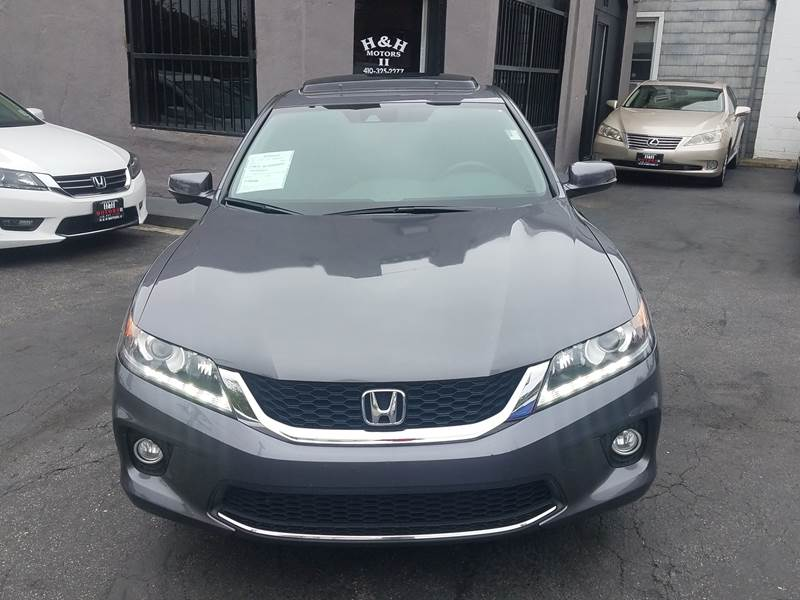 2015 Honda Accord Ex L V6 >> 2015 Honda Accord Ex L V6 2dr Coupe 6a W Navi In Baltimore