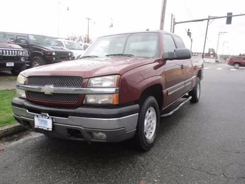 2003 Chevrolet Silverado 1500 for sale in Marysville, WA