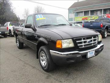 2002 Ford Ranger for sale in Marysville, WA